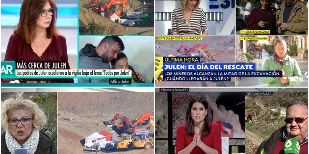 El mensaje del Consejo Audiovisual de Andalucía a las televisiones que cubren el rescate de