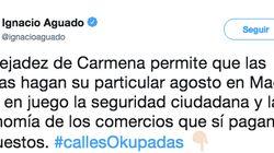 Twitter se mofa de Aguado (C's) por la foto que ha usado para quejarse del 'top-manta' en