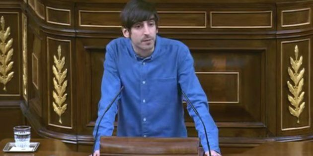Eduardo Maura, diputado de Podemos en el