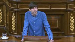 Un diputado de Podemos:
