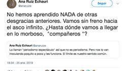 El indignado tuit de una periodista de TVE por el tratamiento del rescate de
