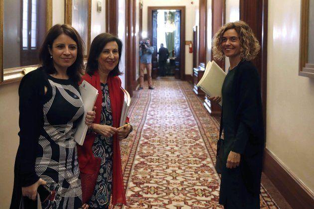 El PSOE se tensa también en el Congreso por el veto a