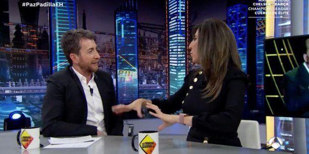 La conversación entre Paz Padilla y Pablo Motos en 'El Hormiguero' que más ha dado que