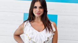 Elena Furiase, orgullosa de su tripita de