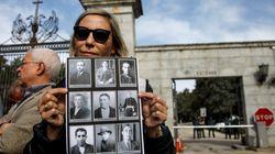 Justicia inicia los trámites para exhumar siete cadáveres del Valle de los