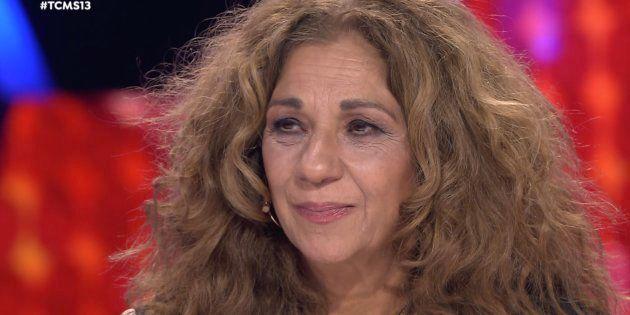 Lolita Flores se emociona con la actuación de Jordi