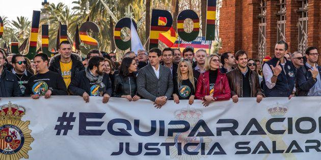 Manifestación de Jusapol. Paco Freire/SOPA Images/LightRocket via Getty