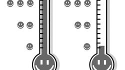 El termómetro de la