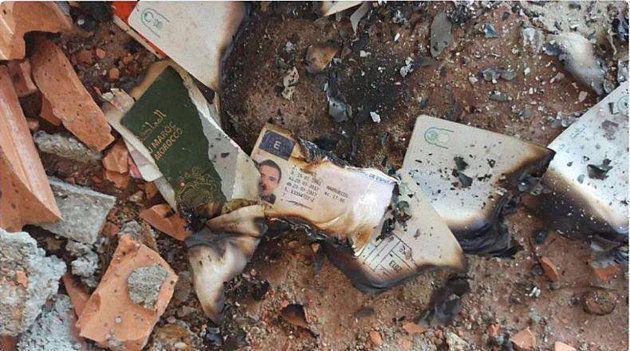 Documentos quemados en la masía en la que prepararon el ataque en