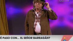 Barragán reaparece en 'Viva la vida' y no es como le