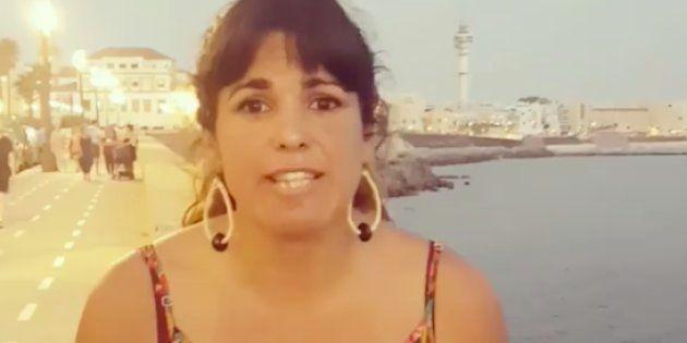 Teresa Rodríguez estalla contra RENFE: