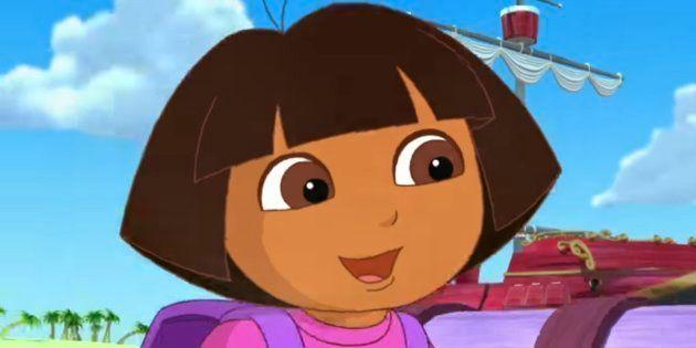 Revelan la primera imagen de la película de 'Dora la Exploradora' con personajes de carne y