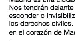 La respuesta de Adriana Lastra a la presidenta de Vox Madrid por lo que ha dicho sobre el Orgullo