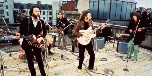 Concierto de Los Beatles en la azotea de Apple Records el 30 de enero de