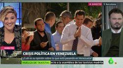 La irónica respuesta de Cristina Pardo a Rufián tras soltarle un 'zasca' sobre la