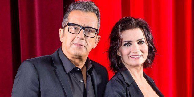 Andreu Buenafuente y Silvia Abril, presentadores de la 33ª edición de los
