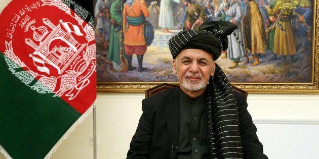 El presidente afgano, Ashraf