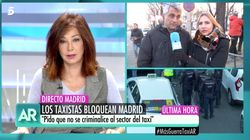 La seria respuesta de Ana Rosa Quintana a un taxista que les acusó de mezclar su tema con el caso
