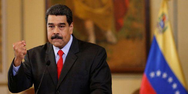 Nicolás Maduro, presidente de Venezuela, en Caracas. REUTERS/Marco