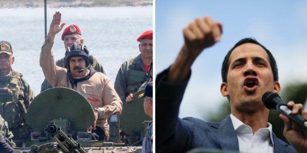 Nicolás Maduro y Juan