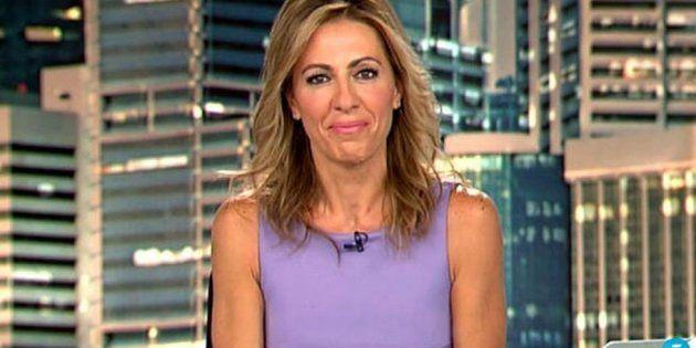 El desagradable percance que ha sufrido Ángeles Blanco ('Informativos Telecinco') en un