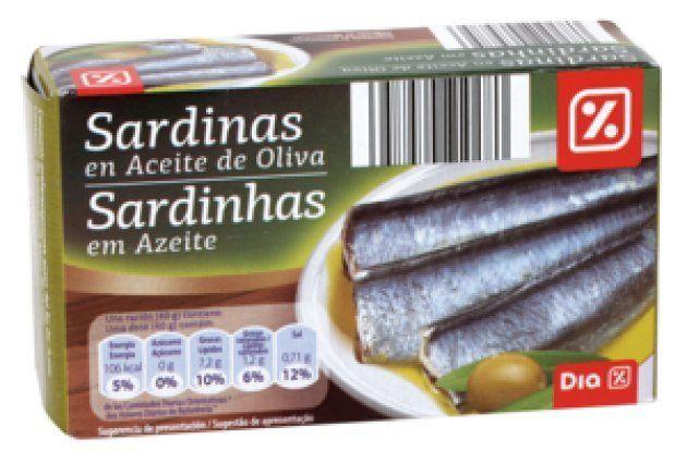Sardinas en aceite de oliva de