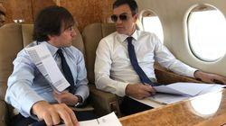 Rifirrafe por el uso del avión oficial: el PSOE dice que Sánchez viaja igual que Rajoy,