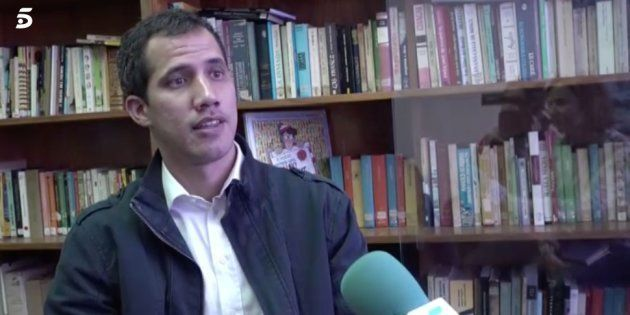 Juan Guaidó mandó un mensaje a Nicolás