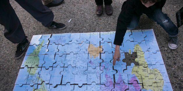 9f3bd9f701 El mapa del mundo que conoces no es el que usan en otras partes del ...