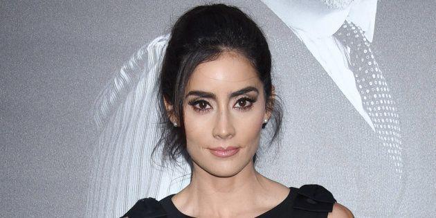 Paola Nuñez en Los Angeles, en abril de