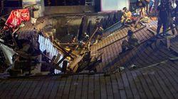 Al menos 313 heridos, nueve de ellos graves, tras el hundimiento de un muelle