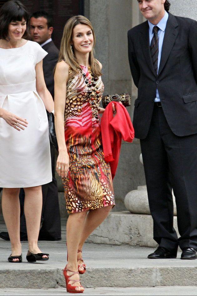 La reina Letizia se apunta (una vez más) a la tendencia 'animal