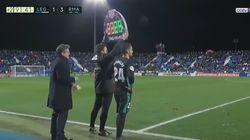 Cachondeo en Twitter con lo que le hizo Zidane a Ceballos ante el