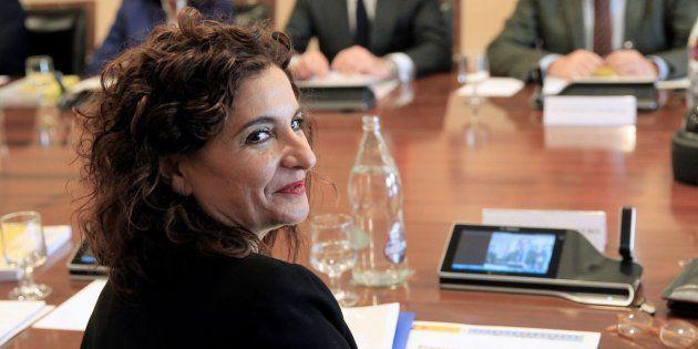 La ministra de Hacienda, Maria Jesus Montero, en una foto de
