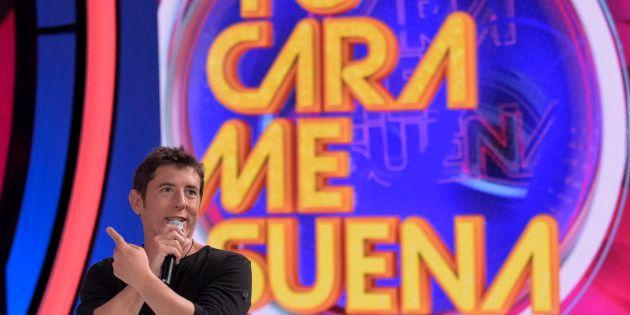 Manel Fuentes en la presentación de la cuarta temporada de 'Tu Cara Me