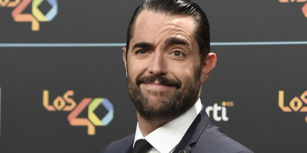 Presenter Dani Mateo during the 40 Principales Music Awards in Madrid , on Friday 10 November
