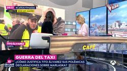 El contundente reproche de Susanna Griso a un taxista en pleno directo de 'Espejo