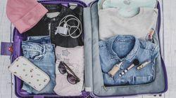 Paraguas, chubasquero, camiseta térmica... los extras de la maleta se llaman