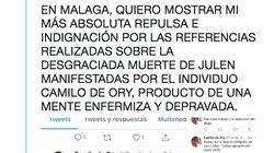 La Diputación de Málaga critica los comentarios macabros sobre Julen de un poeta premiado en