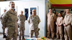El rey Felipe VI llega a Irak en su cumpleaños para visitar a las tropas