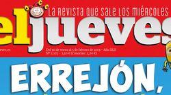 La portada de 'El Jueves' que genera una tremenda ovación por cómo muestra a Errejón: