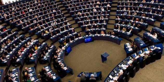 Sesión plenaria del Parlamento Europeo de Estrasburgo, en octubre