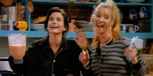 Lisa Kudrow y Courteney Cox ('Friends') se reúnen por sorpresa en el programa de Ellen
