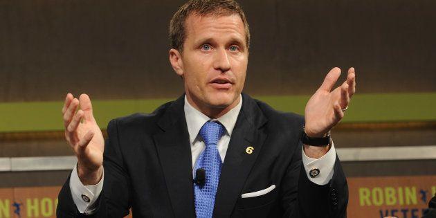 Eric Greitens, gobernador de