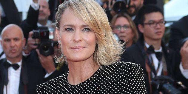 La actriz Robin Wright, fotografiada en el Festival de Cannes en mayo de