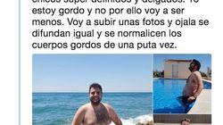 Este chico desata una oleada de gordofobia y solidaridad con unas fotos reivindicando su