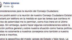 Iglesias se abre a negociar una confluencia con Errejón: