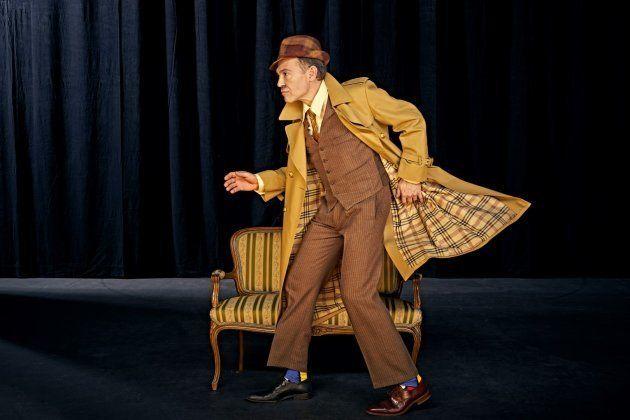 Miguel Cubero en Nekrassov de Jean Paul Sartre en el Teatro de la