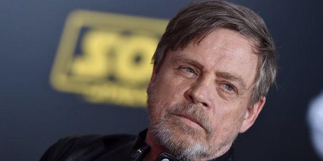 Mark Hamill en el estreno de 'Han Solo: Una historia de Star