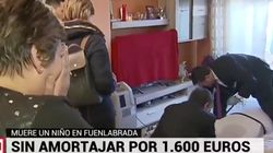 El cadáver de un niño pasa 20 horas en el sofá de su casa en Fuenlabrada porque a sus padres le faltaban 1.600